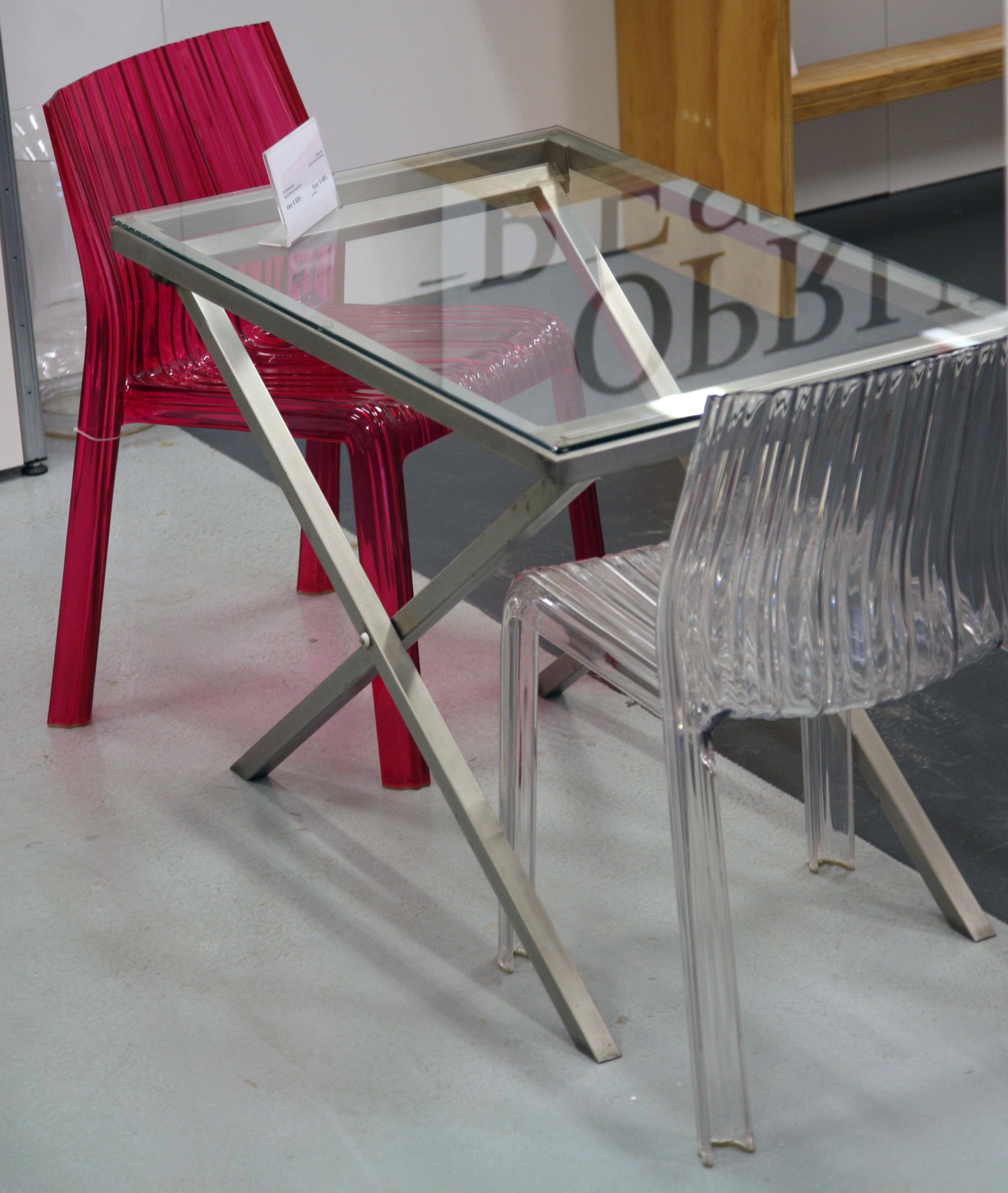 Tafels op maat transvorm for Inklapbare tafel
